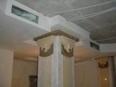 Облицовка колонн