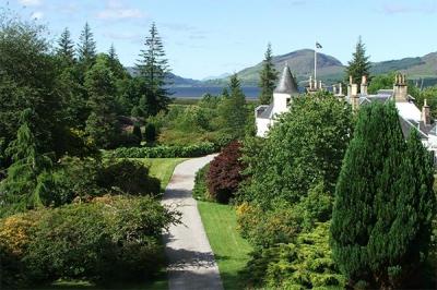 Сад Эттедейл, Шотландия