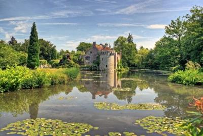 Замок и сад Скотни, Великобритания