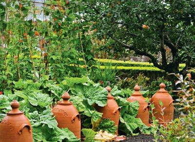 Сад Инверью, Шотландия