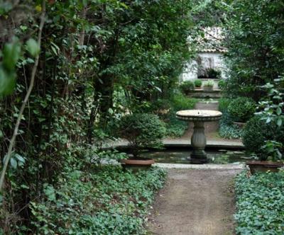 Сад монастыря Ла Скарцуола, Италия, Умбрия