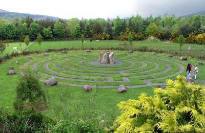Музей и лабиринт фермы Greenan, Ирландия
