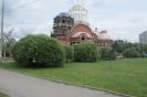 Конкурсный участок в центре бульвара вблизи Храма Преодобного Сергия Радонежского