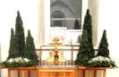 Цветы в Храме